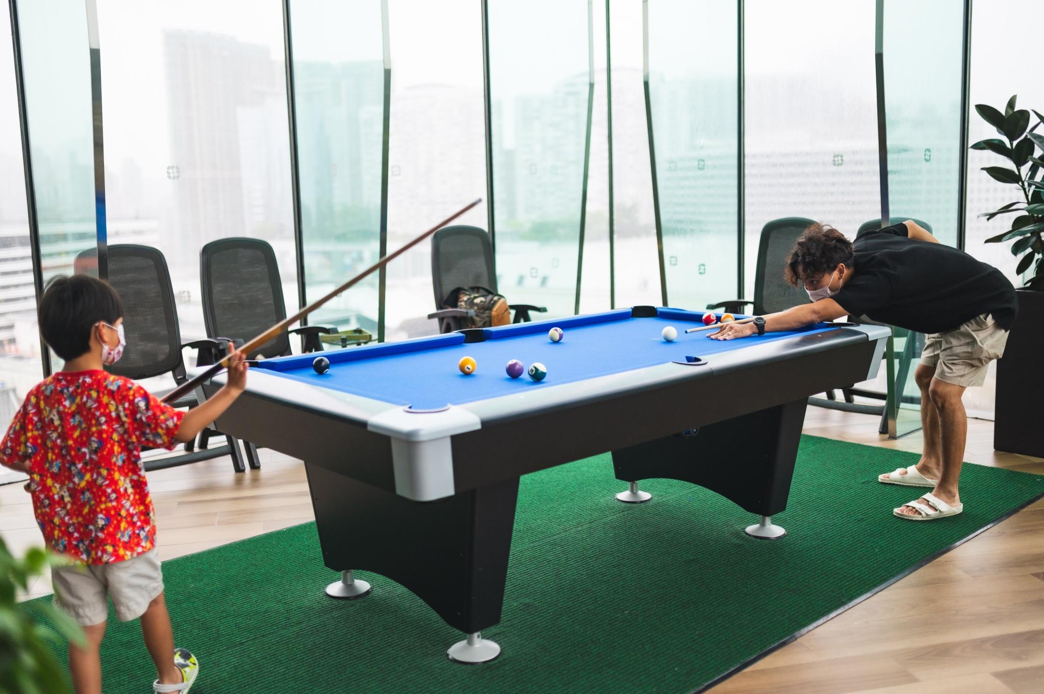親子staycation Timeless Lounge